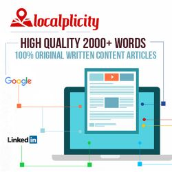 Content Marketing - (3) 2000+ Word Articles - $499.99 One Time